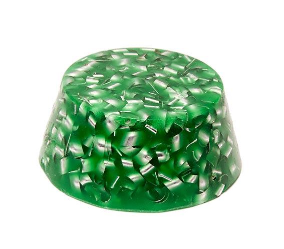 Grön puck