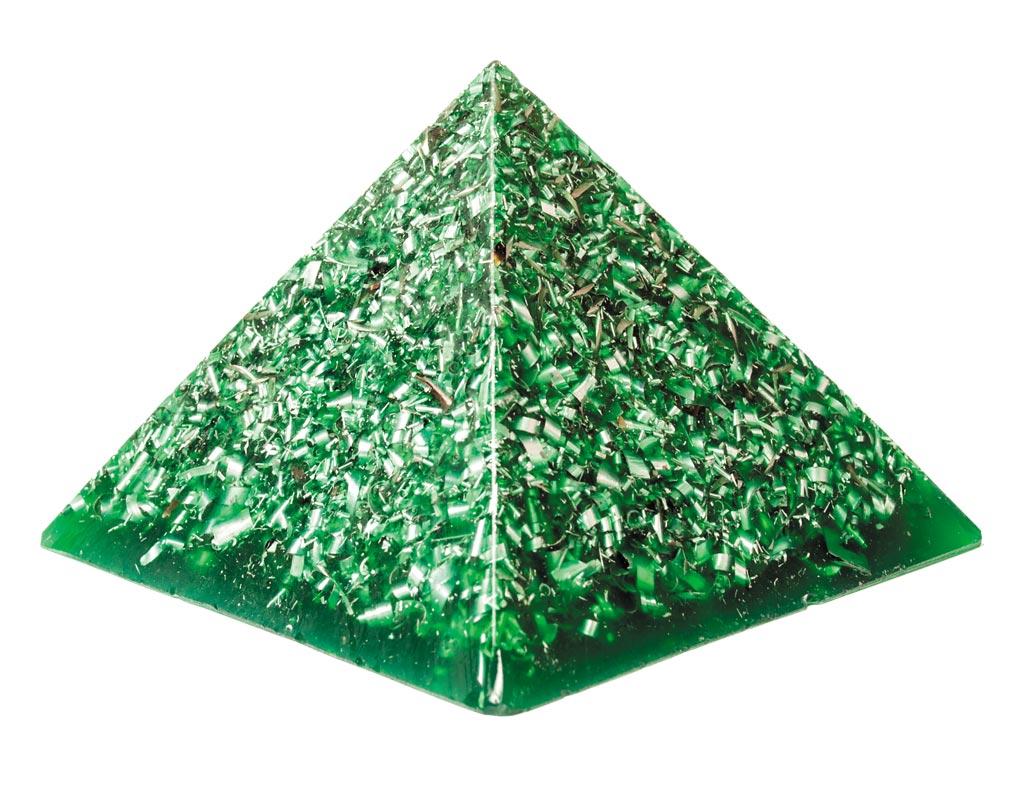 Grön pyramid